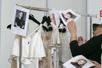 Barcelona Bridal Week backstage and catwalk photos by sinnombre