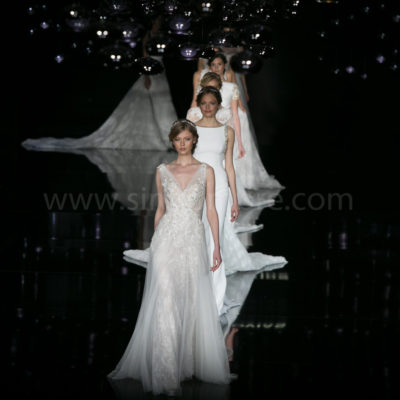 Desfile de Pronovias durante la Barcelona Bridal Fashion Week